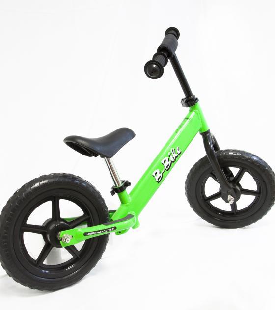 bici senza pedali verde
