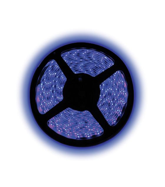BOBINA STRISCIA LED BLU SMD5050 300 LED RESISTENTE ALL'ACQUA 12V